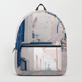 Milos 0024: Kimolos, Milos, Greece Backpack