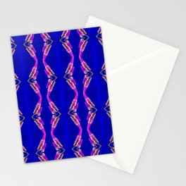 Electric Floral Stationery Cards