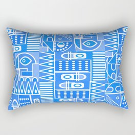 GeoPrint Pattern Rectangular Pillow