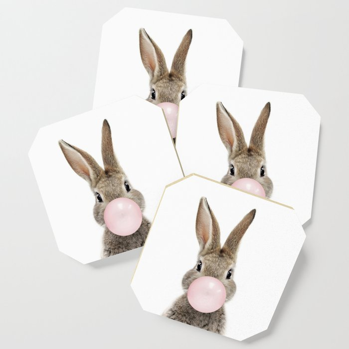 Bubble Gum Bunny Coaster