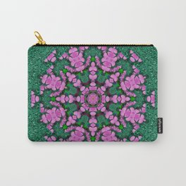 the most uniqe flower star in ornate glitter Carry-All Pouch