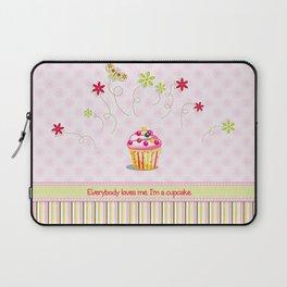 Cupcake Love Laptop Sleeve