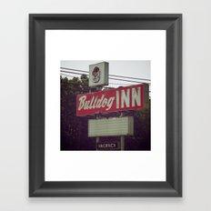 Bulldogs Framed Art Print