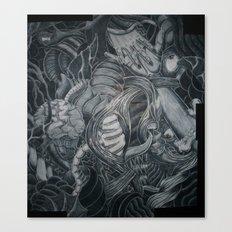 When Adam Lost Eve Canvas Print