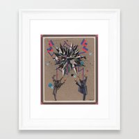 chuck Framed Art Prints featuring chuck by Justin M. Angelos