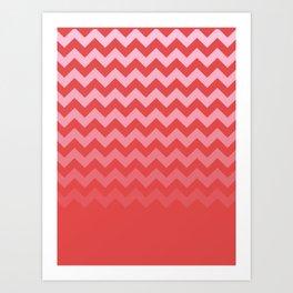 Chevronism Art Print