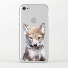 Little Wolf Clear iPhone Case