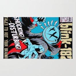 Vintage Rock Poster v12.0 Rug