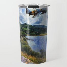 Lake Flight 1940's Travel Mug