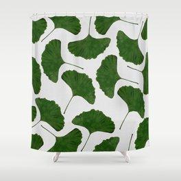 Ginkgo Leaf II Shower Curtain