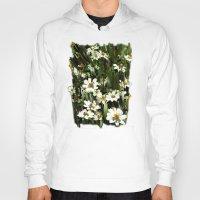daisies Hoodies featuring Daisies by Usha Shantharam