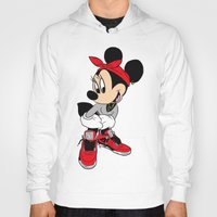 minnie mouse Hoodies featuring MINNIE MOUSE AJ4 by EA88