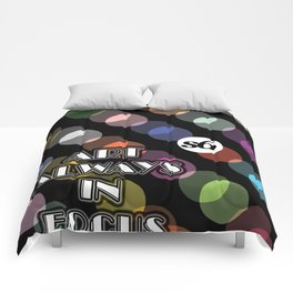 98 Multicolor Double Vision Dots S6 TEE Comforters