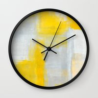 clear Wall Clocks featuring Clear by T30 Gallery