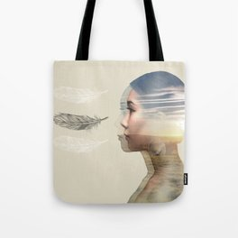 Weightlessness Tote Bag