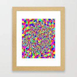 Outweird Me Framed Art Print