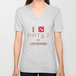 dota2 for gamers Unisex V-Neck