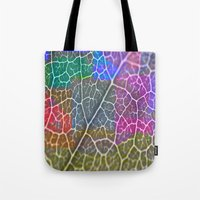 leaf Tote Bags featuring Leaf  by Latidra Washington