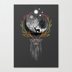 deer to dream Canvas Print