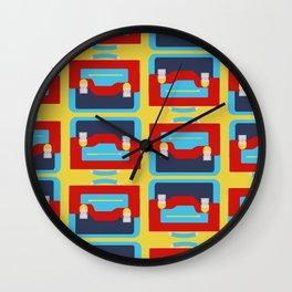 Satchel Of Joy Wall Clock