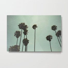 Space and the palms Metal Print