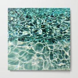 Swimmingly Metal Print