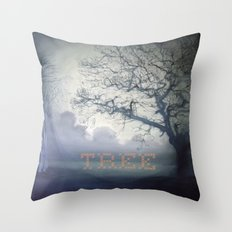 It's all there.....just listen Throw Pillow