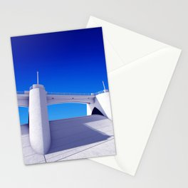 Sepulveda Dam on blue Stationery Cards
