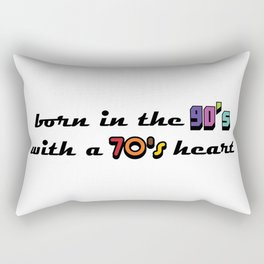 90's Kid Rectangular Pillow