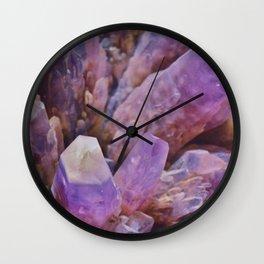 EEB. Amethyst Wall Clock