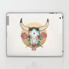 cráneo de vaca Laptop & iPad Skin