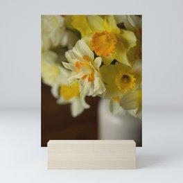 Rustic Spring Flowers Mini Art Print