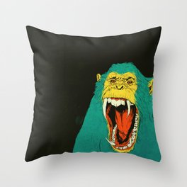 Chimpanzee Throw Pillow