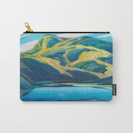 Canadian Landscape Oil Painting Franklin Carmichael Art Nouveau Post-Impressionism Lone Lake Carry-All Pouch