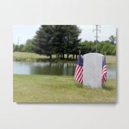 The Forgotten Solider Metal Print