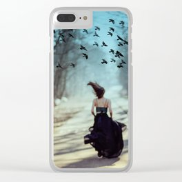 Storm and flight Clear iPhone Case