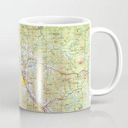OR Medford 283340 1955 Topographic Map Coffee Mug