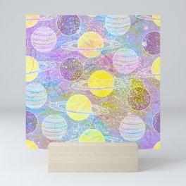 planets Mini Art Print