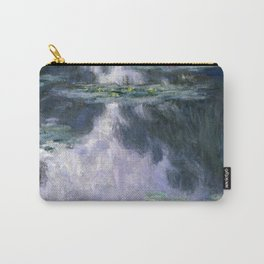 Monet - Water Lilies (Nymphéas), 1907 Carry-All Pouch