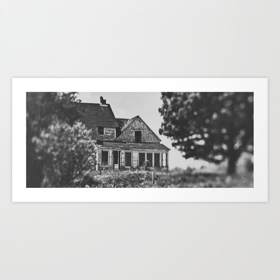 Shifted Past Art Print