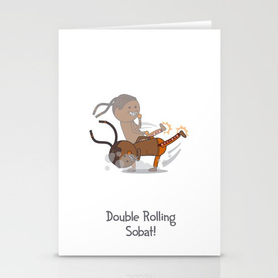 Double Rolling Sobat! Stationery Cards