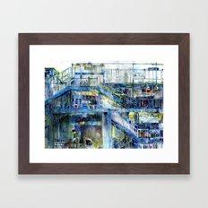 Subway - Bronx, New York  Framed Art Print