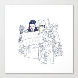 SUZY & SAM Canvas Print