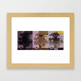 Serenity Moon Light Escalation Framed Art Print
