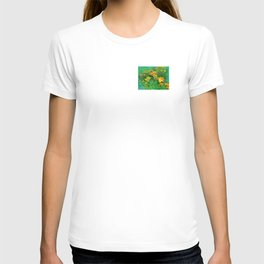 Day-glo Lilies T-shirt