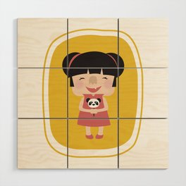 Hello how are you (Yellow Tales Series) Wood Wall Art