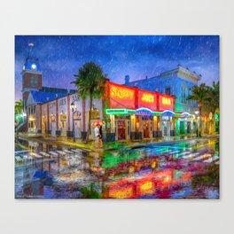 Key West Landmark - Sloppy Joe's Bar Canvas Print