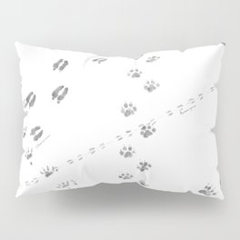 Animal Tracks of North America Pillow Sham