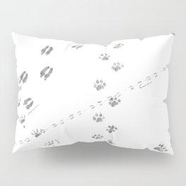 Animal Tracks of North America Pillow Sham