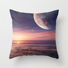 Ocean pastel Throw Pillow